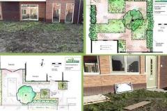 Tuinontwerp voor nieuwbouw.. ook beplantingsplan is in de maak.