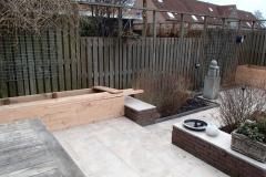 Tuinrenovatie De Rijp -  we maken verhoogde bakken