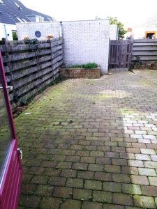 tegel uit de tuin